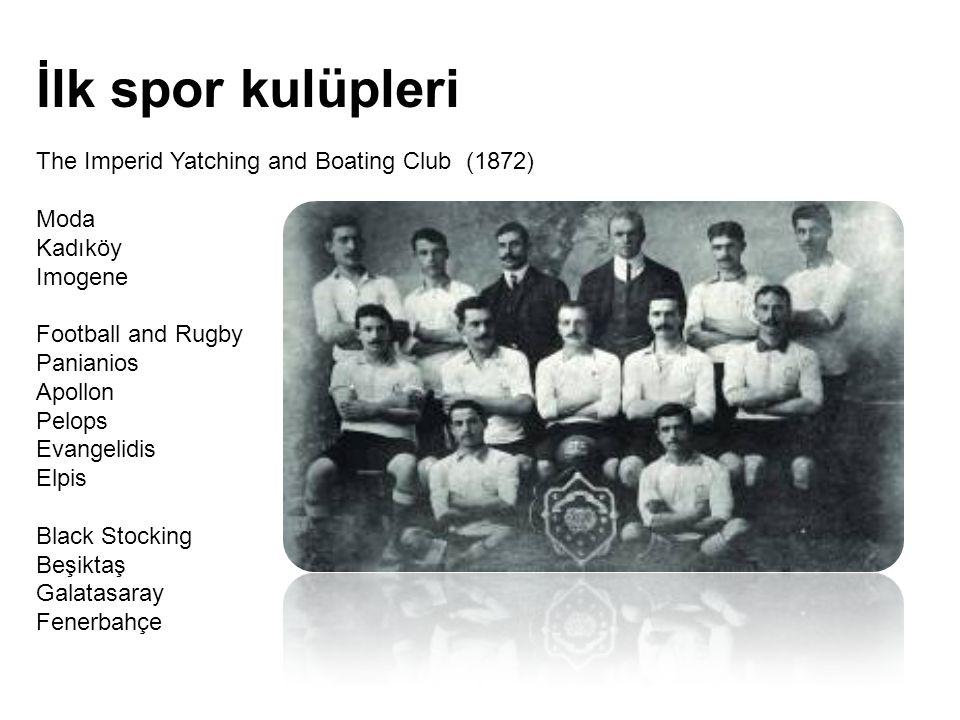 İlk spor kulüpleri