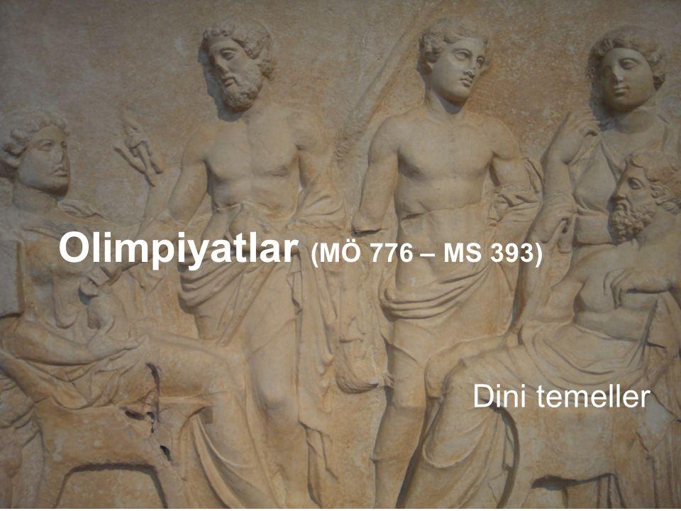 Olimpiyatlar (MÖ 776 – MS 393) Dini temeller