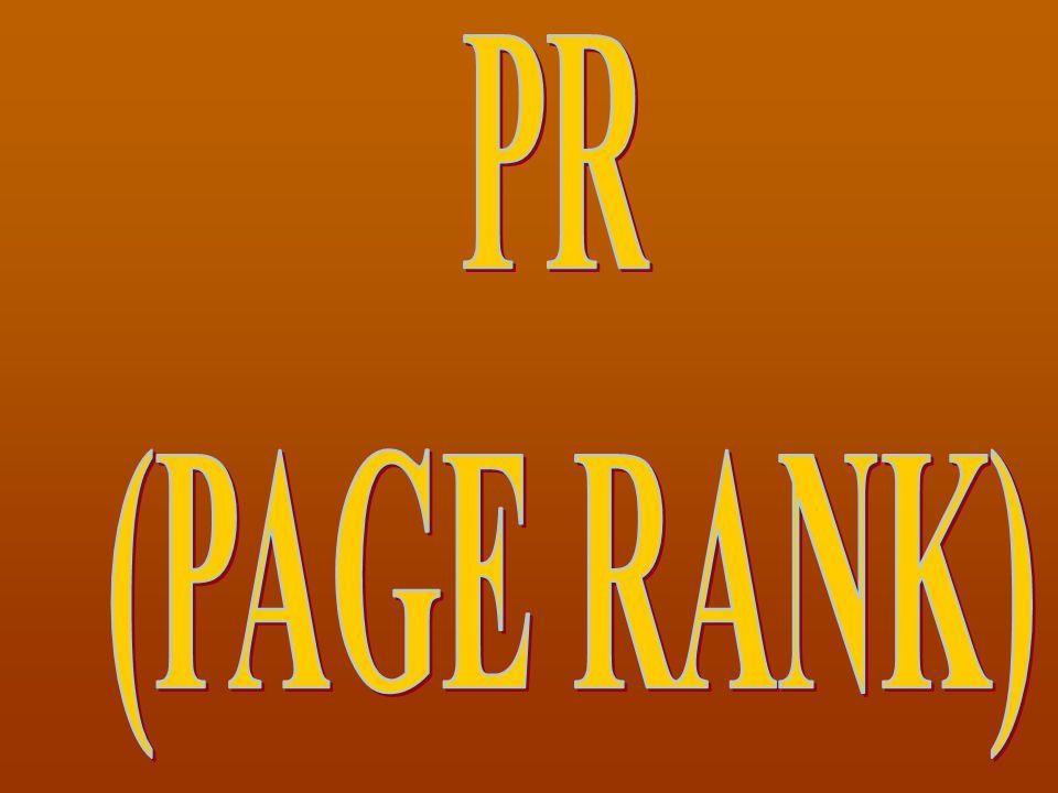PR (PAGE RANK)