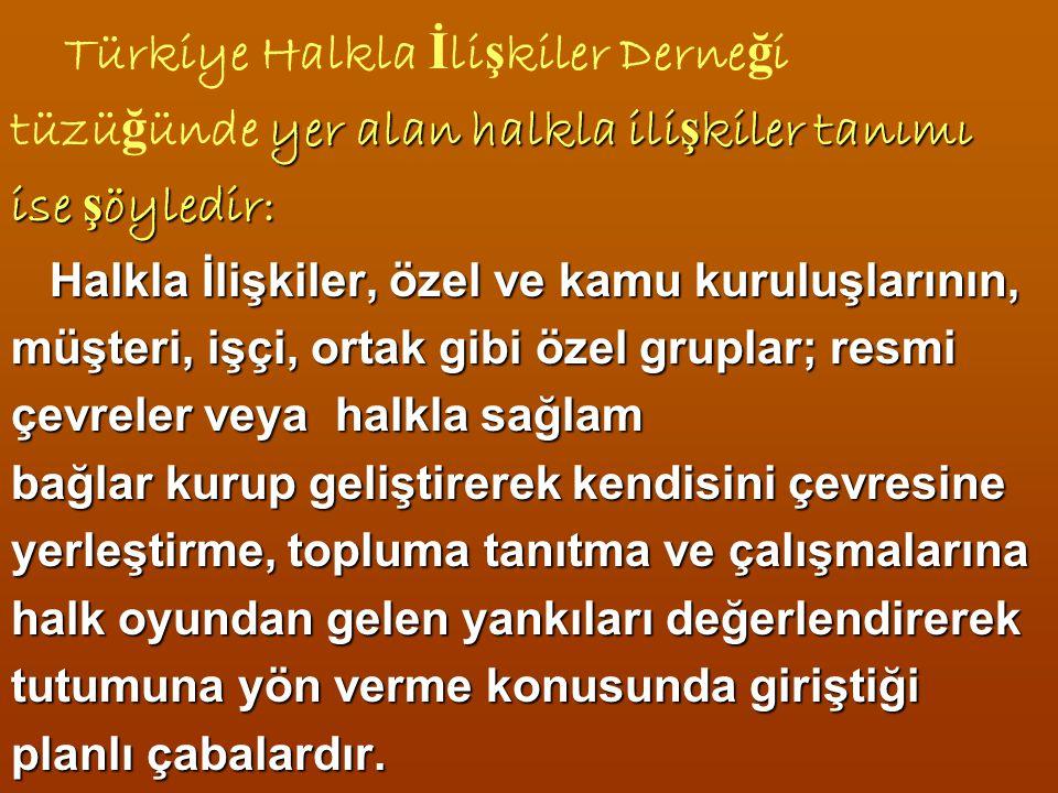 Türkiye Halkla İlişkiler Derneği