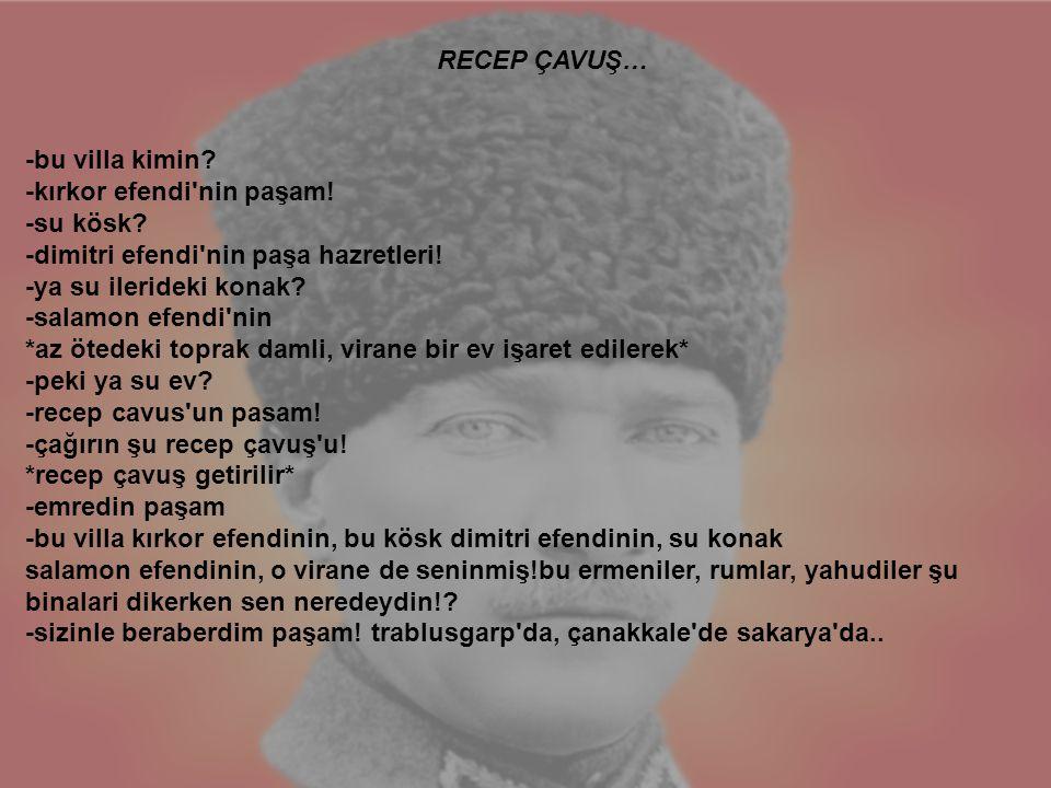 RECEP ÇAVUŞ…