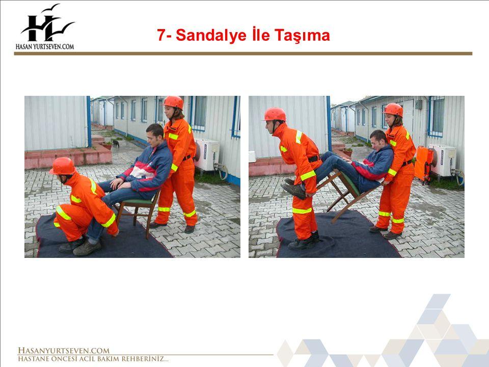 7- Sandalye İle Taşıma