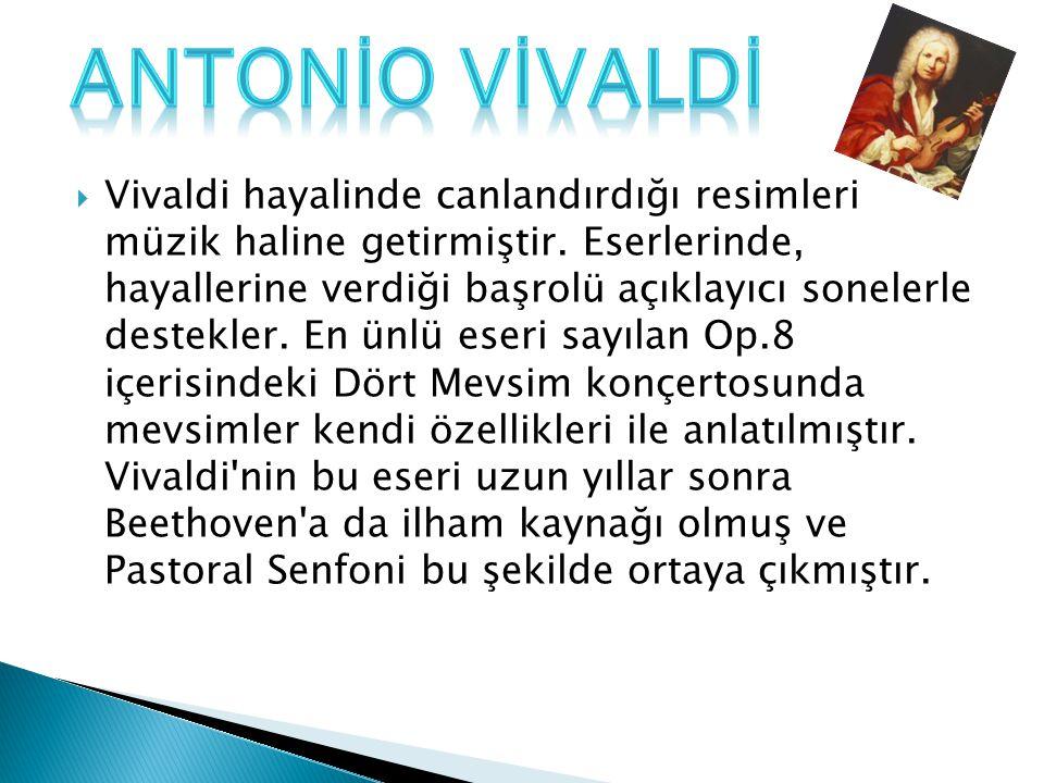 ANTONİO VİVALDİ