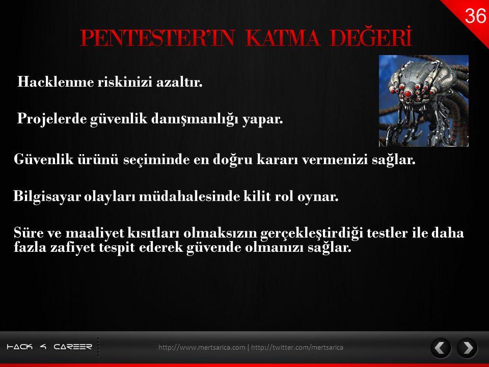 PENTESTER'IN KATMA DEĞERİ