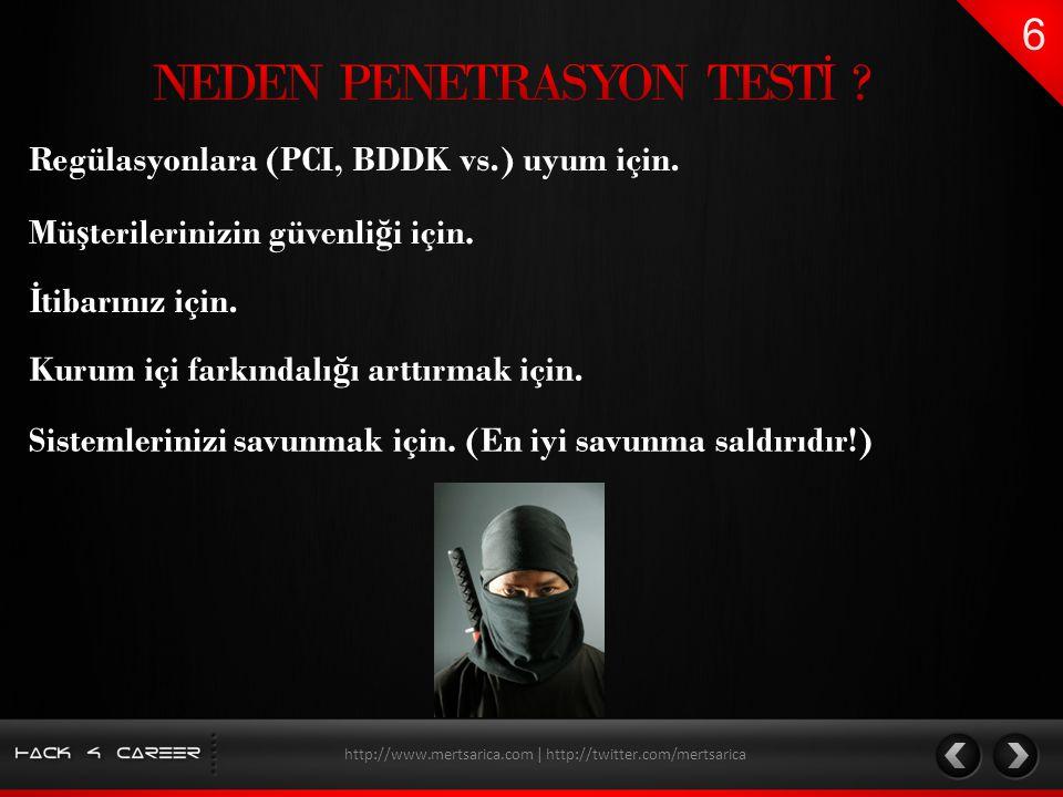 NEDEN PENETRASYON TESTİ