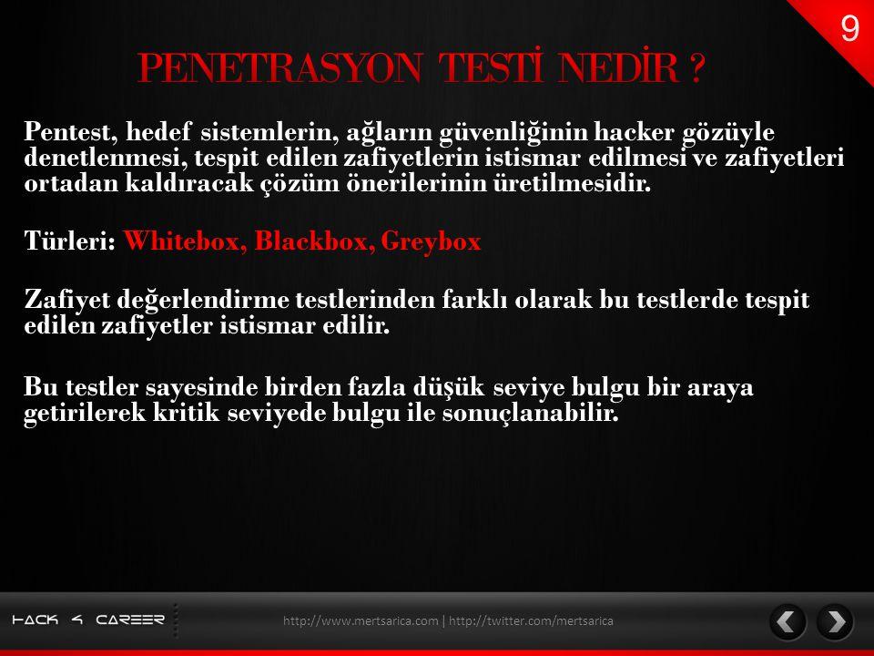 PENETRASYON TESTİ NEDİR
