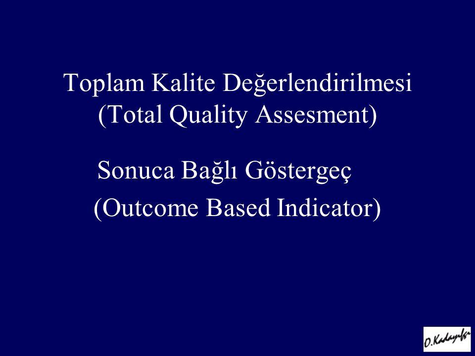 Toplam Kalite Değerlendirilmesi (Total Quality Assesment)