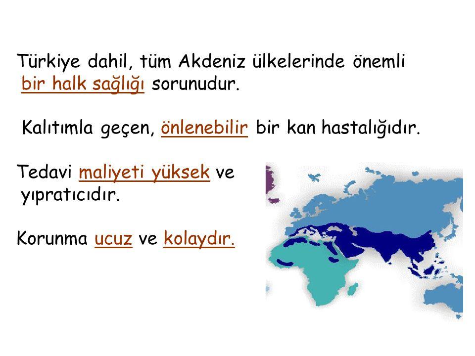 Türkiye dahil, tüm Akdeniz ülkelerinde önemli