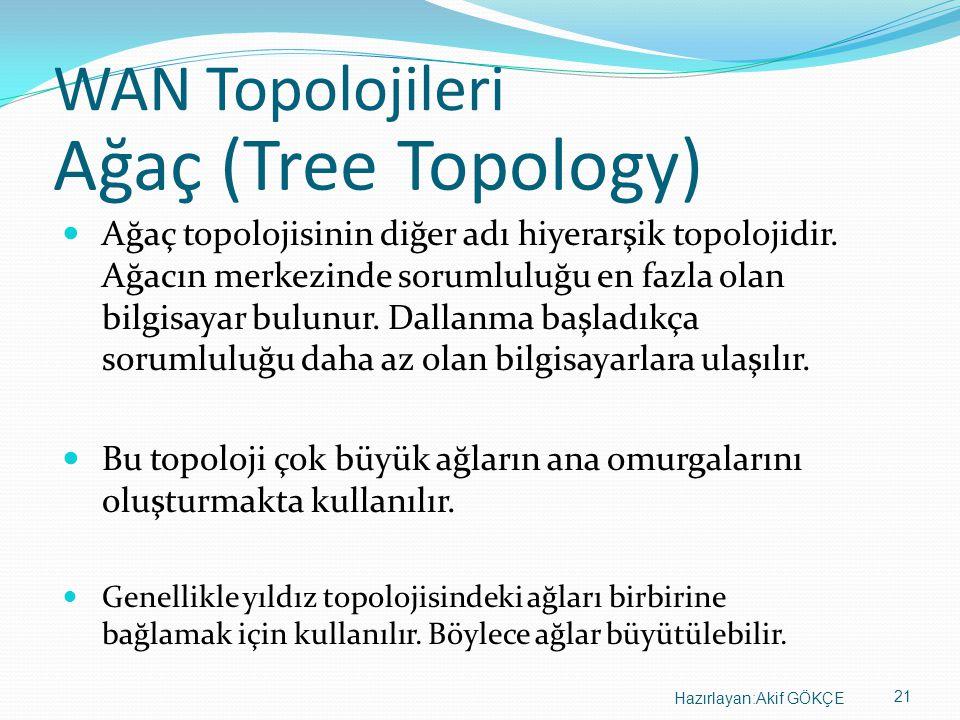 Ağaç (Tree Topology) WAN Topolojileri