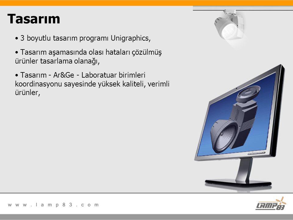 Tasarım 3 boyutlu tasarım programı Unigraphics,