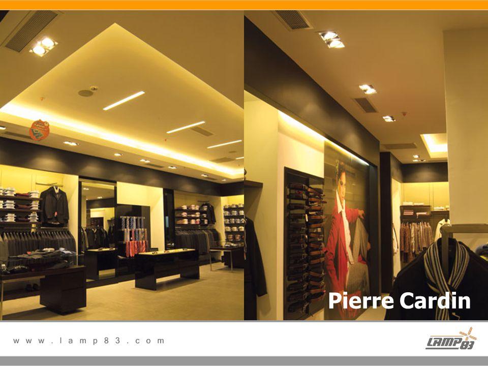Referanslarımız Pierre Cardin