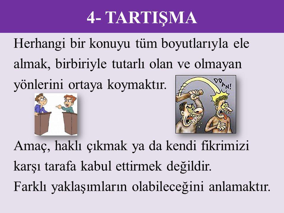 4- TARTIŞMA