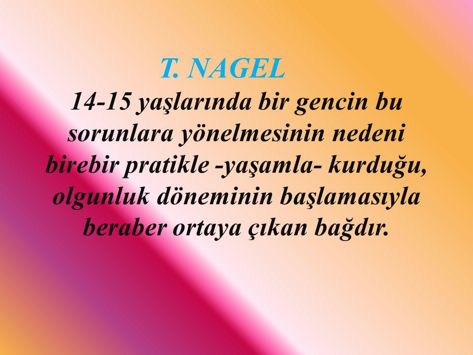 T. NAGEL