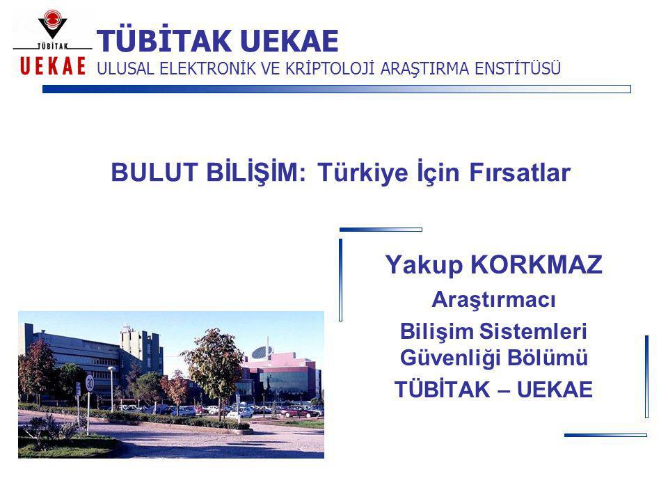 BULUT BİLİŞİM: Türkiye İçin Fırsatlar