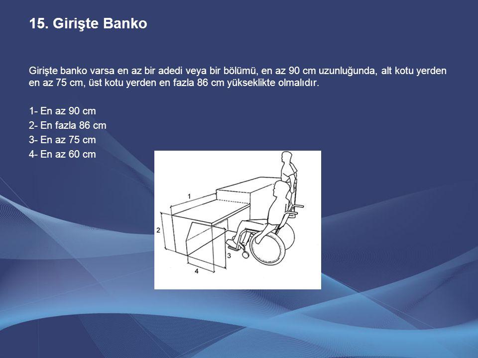 Girişte Banko