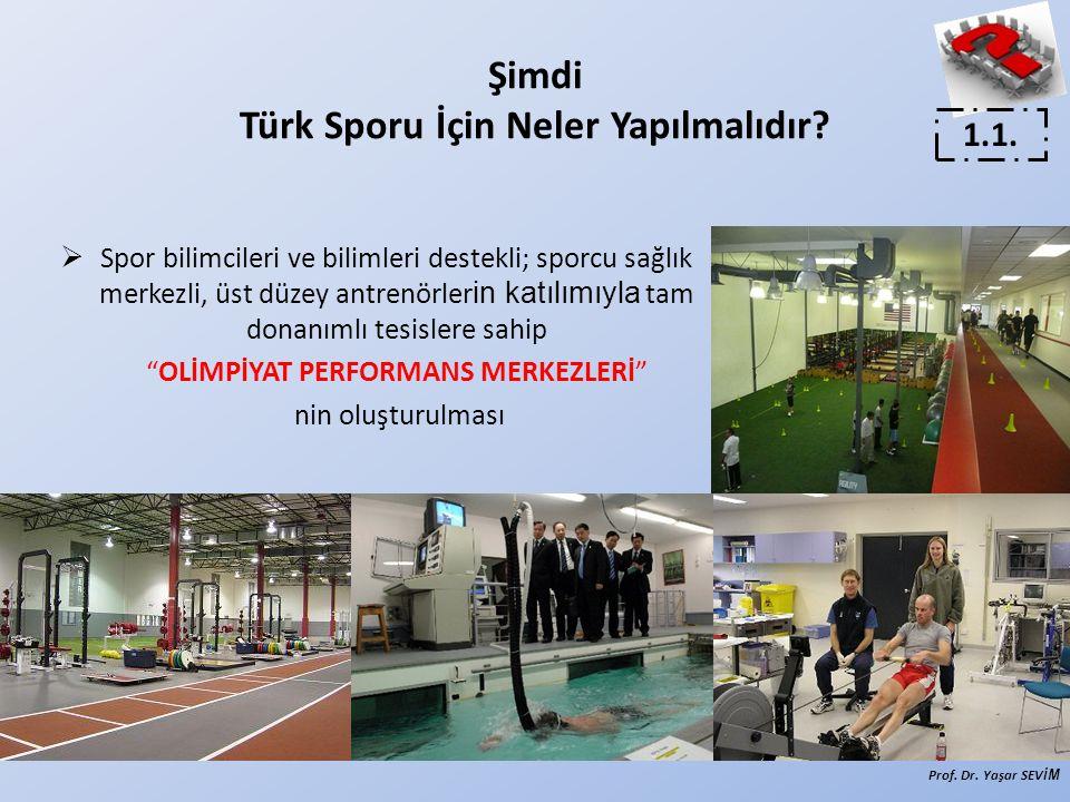 Şimdi Türk Sporu İçin Neler Yapılmalıdır