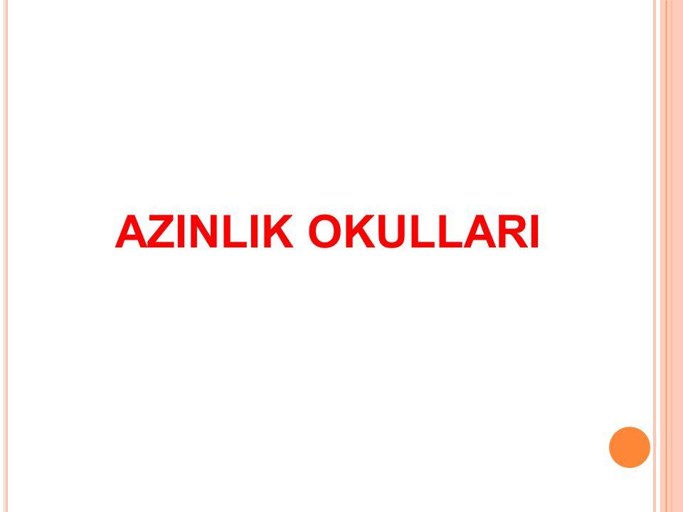 AZINLIK OKULLARI