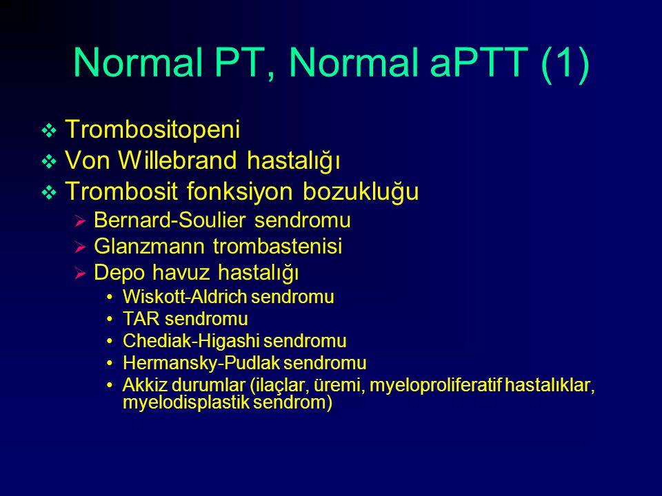 Normal PT, Normal aPTT (1)