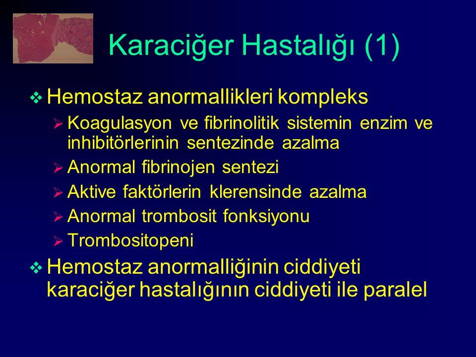 Karaciğer Hastalığı (1)