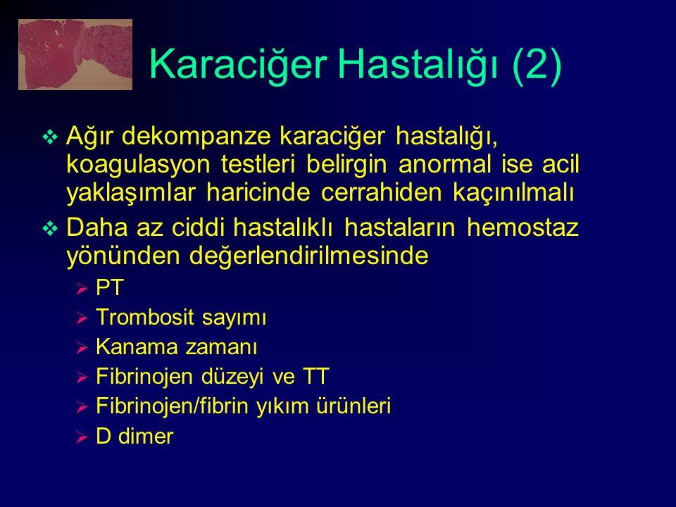 Karaciğer Hastalığı (2)