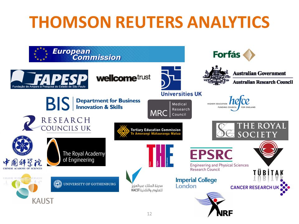 THOMSON REUTERS ANALYTICS