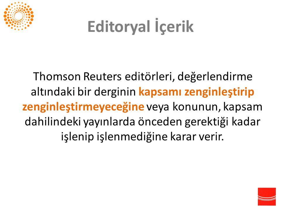 Editoryal İçerik