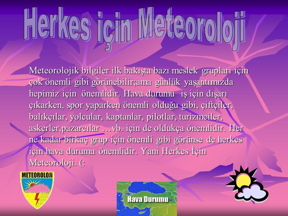 Herkes için Meteoroloji