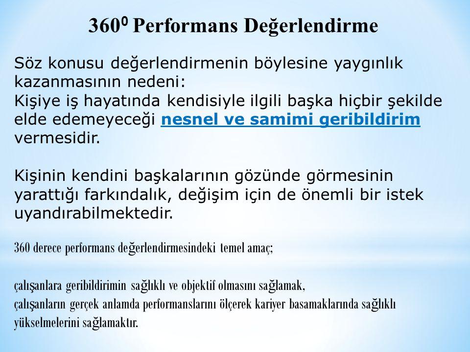 3600 Performans Değerlendirme