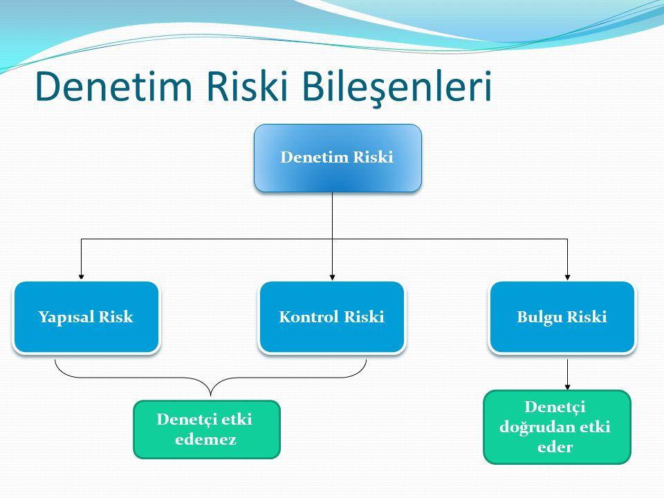 Denetim Riski Bileşenleri