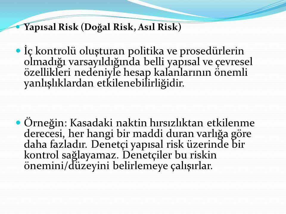 Yapısal Risk (Doğal Risk, Asıl Risk)