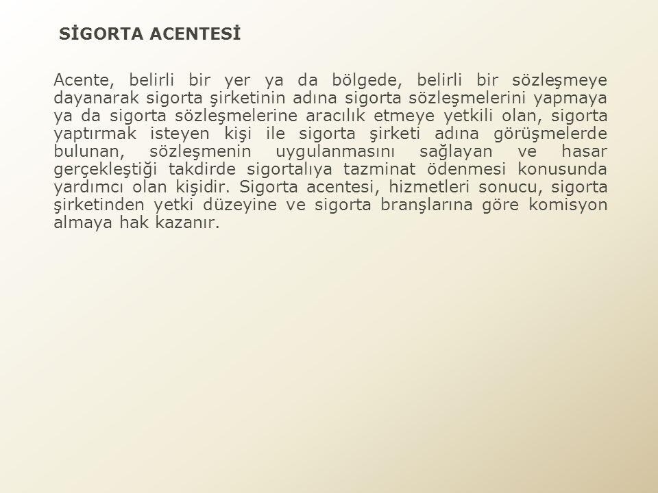 SİGORTA ACENTESİ