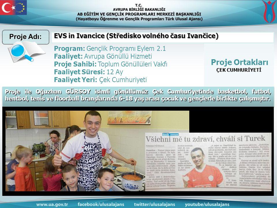 EVS in Ivancice (Středisko volného času Ivančice)