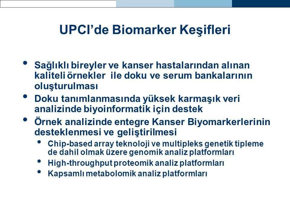 UPCI'de Biomarker Keşifleri
