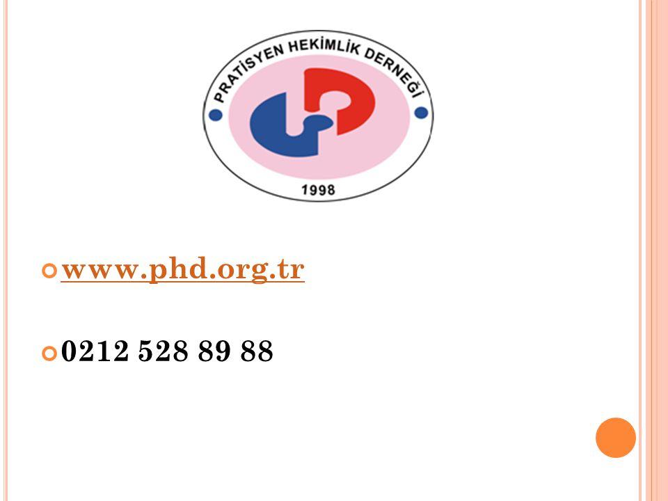 www.phd.org.tr 0212 528 89 88