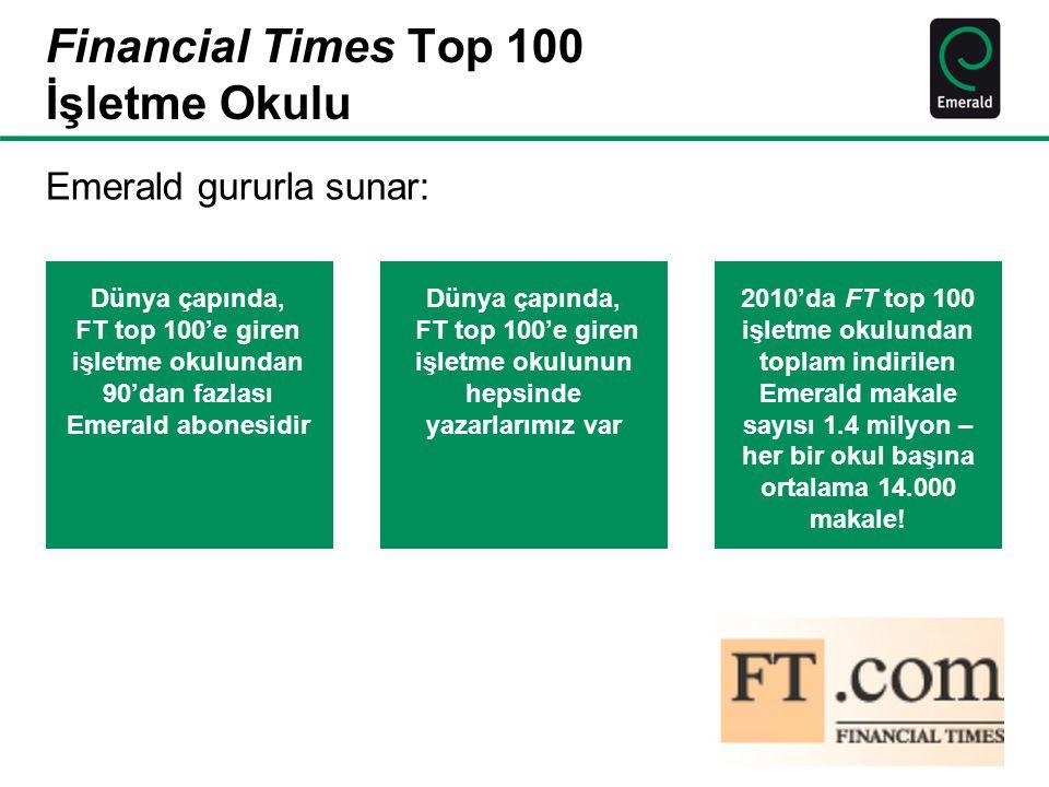Financial Times Top 100 İşletme Okulu