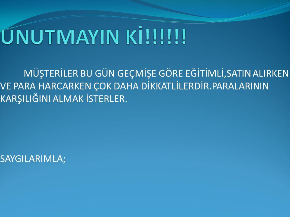 UNUTMAYIN Kİ!!!!!!