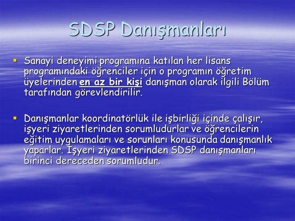 SDSP Danışmanları