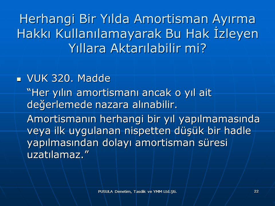 PUSULA Denetim, Tasdik ve YMM Ltd.Şti.