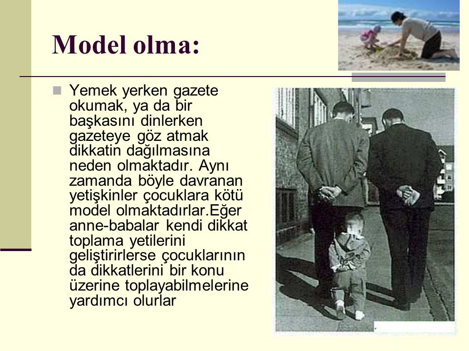 Model olma: