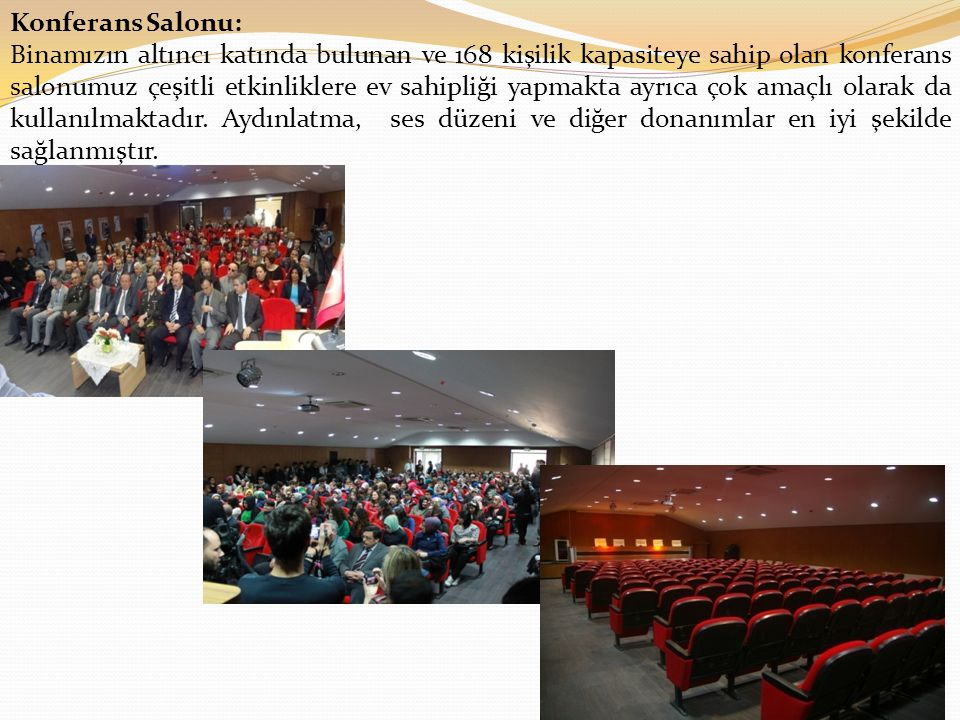 Konferans Salonu: