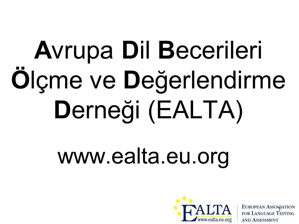 Avrupa Dil Becerileri Ölçme ve Değerlendirme Derneği (EALTA)