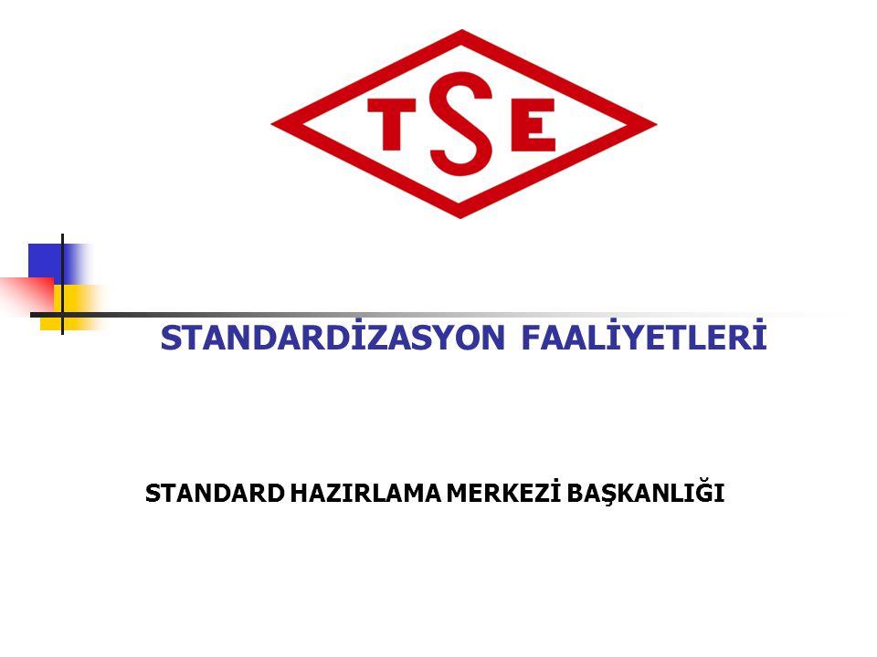 STANDARDİZASYON FAALİYETLERİ