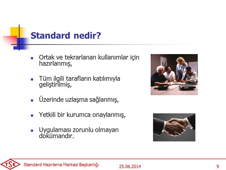Standard Hazırlama Merkezi Başkanlığı