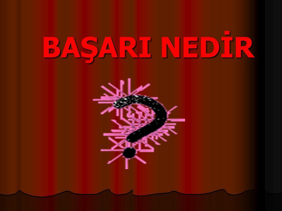 BAŞARI NEDİR
