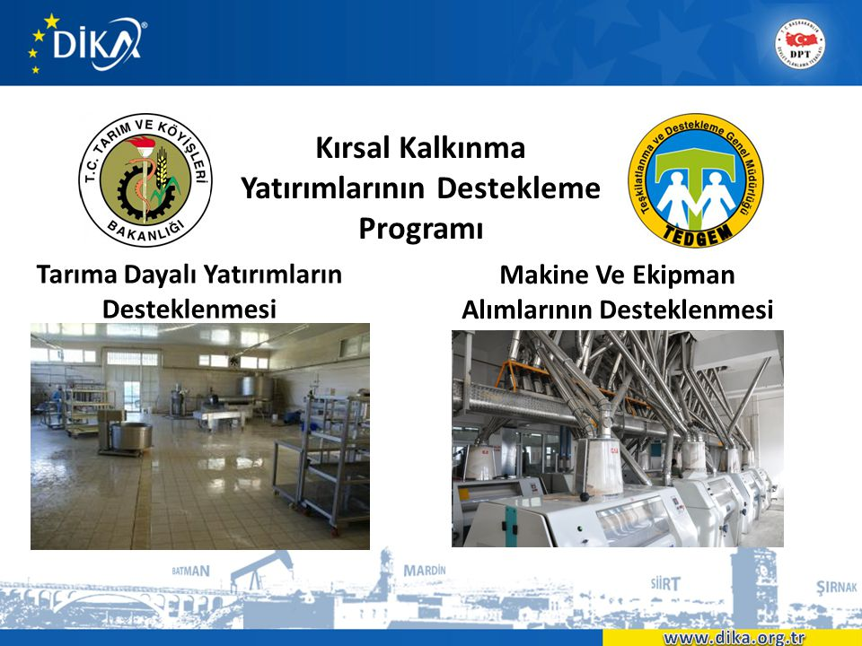 Kırsal Kalkınma Yatırımlarının Destekleme Programı