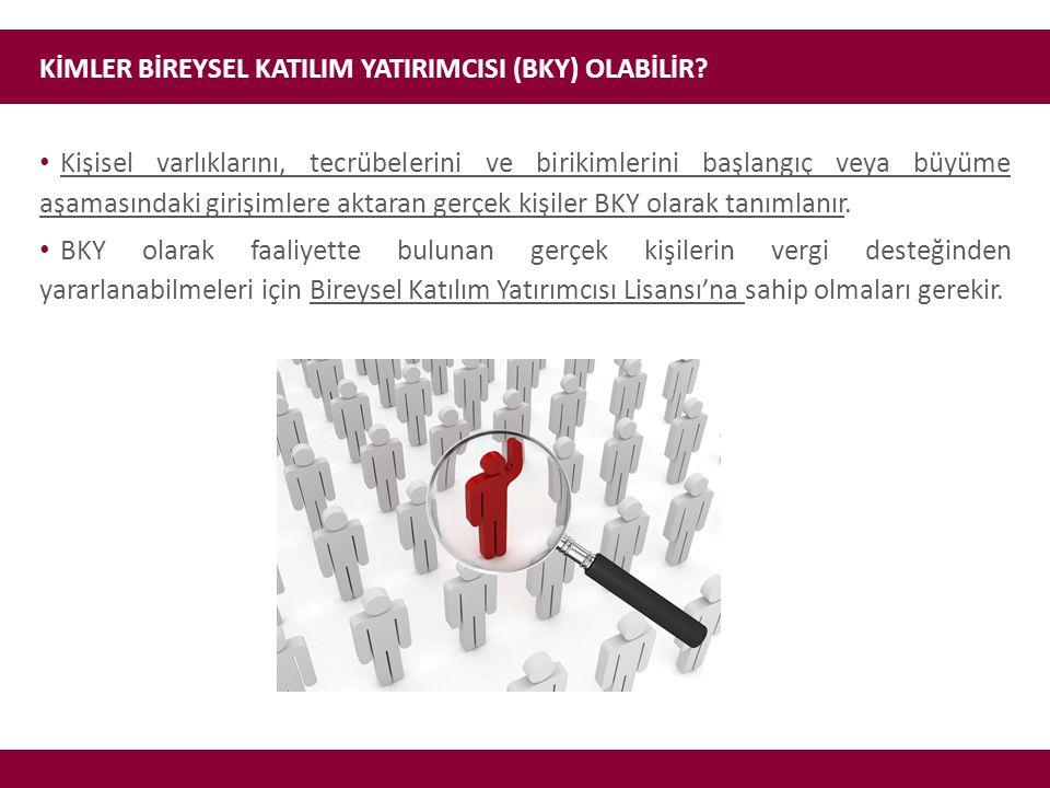KİMLER BİREYSEL KATILIM YATIRIMCISI (BKY) OLABİLİR