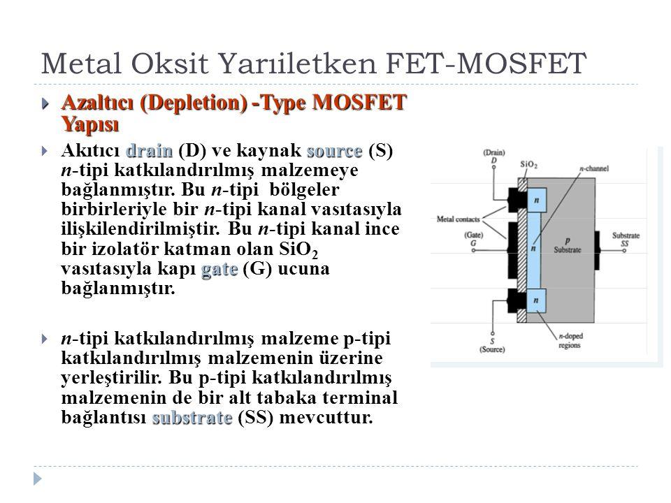 Metal Oksit Yarıiletken FET-MOSFET