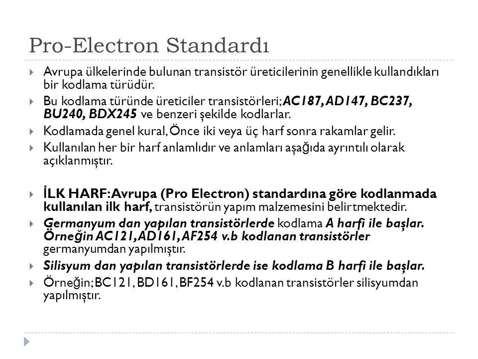 Pro-Electron Standardı