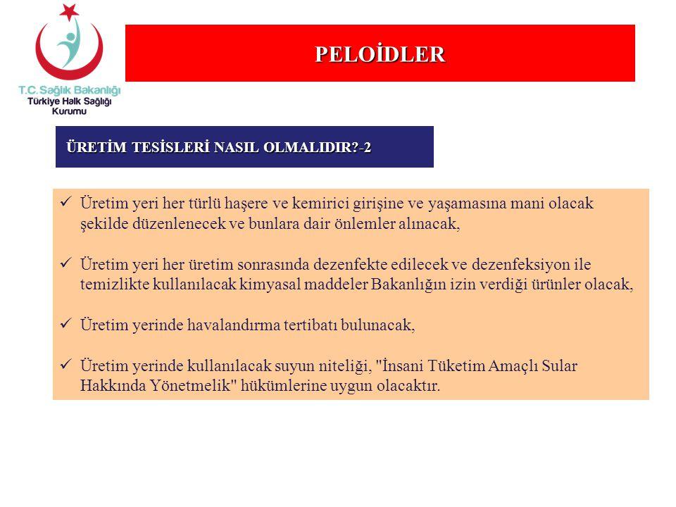 PELOİDLER ÜRETİM TESİSLERİ NASIL OLMALIDIR -2.