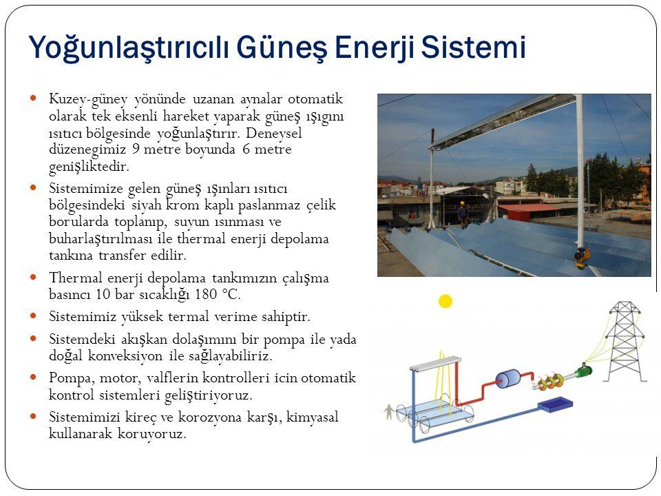 Yoğunlaştırıcılı Güneş Enerji Sistemi